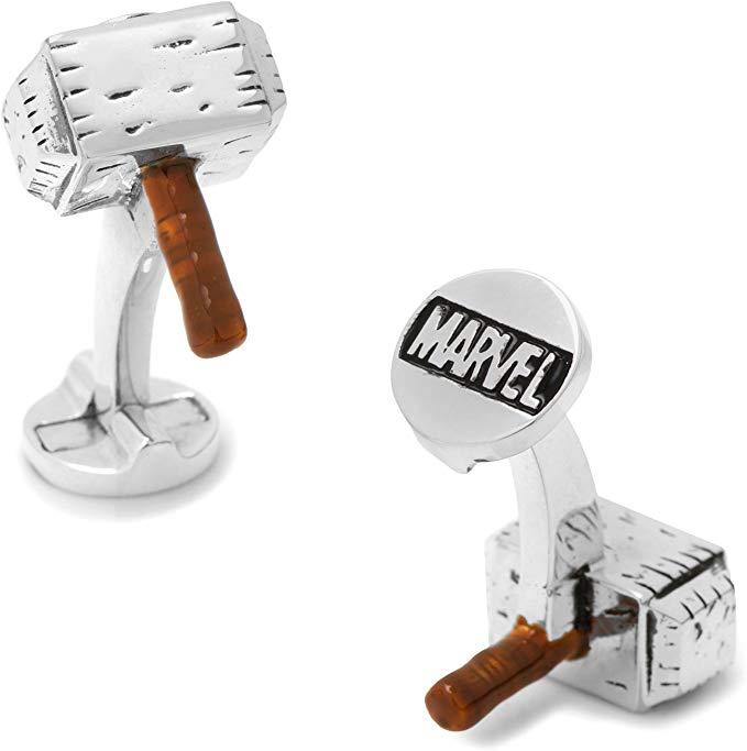 Thor hammer cuff links