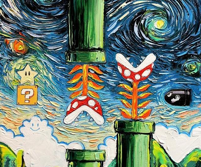 van gogh geeky paintings 640x533 1
