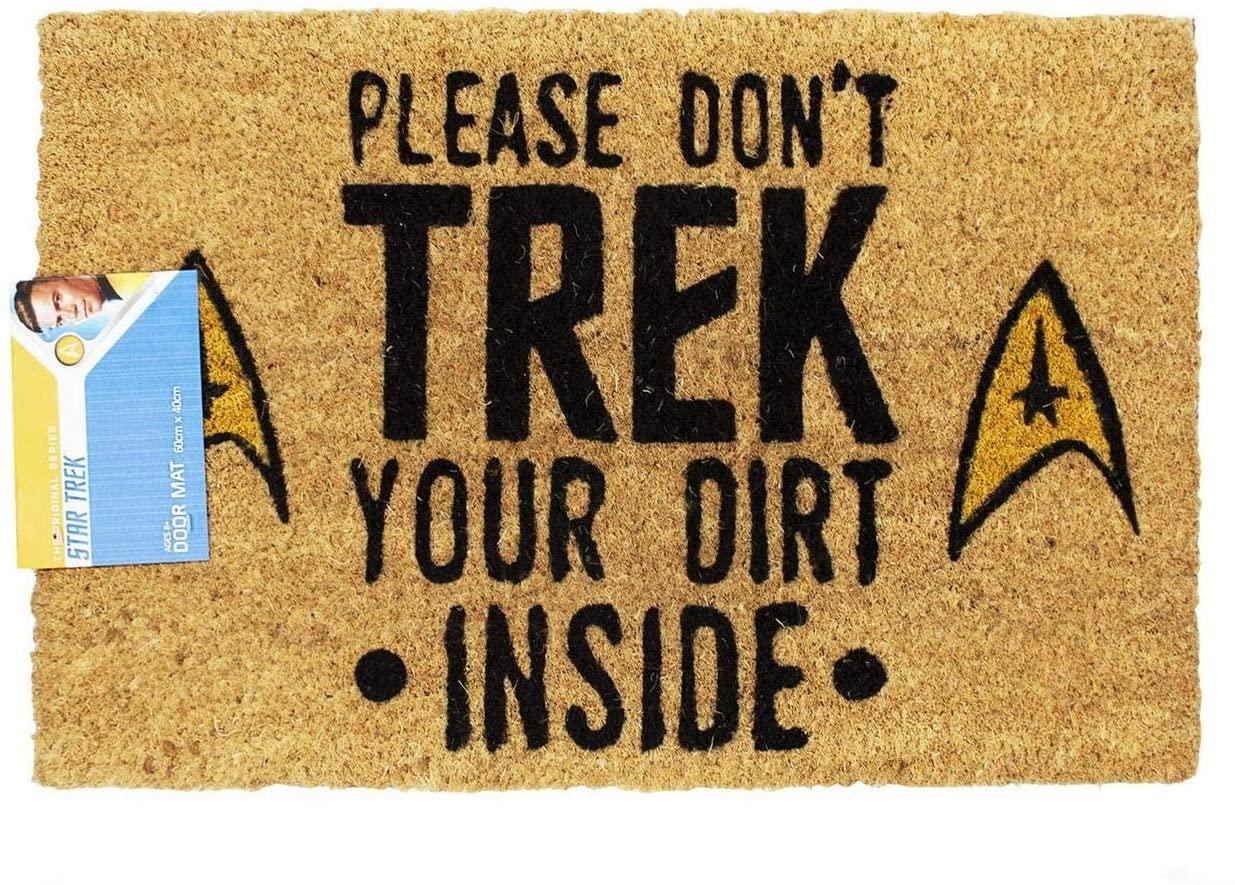 Star Trek Door Mat Gift for dad