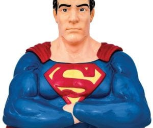 Superman cookie jar gift idea