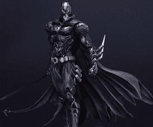 batman square enix figure dc comic fan gift