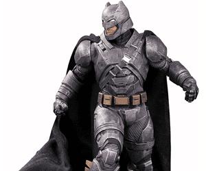 batman vs superman armored batman figure gift