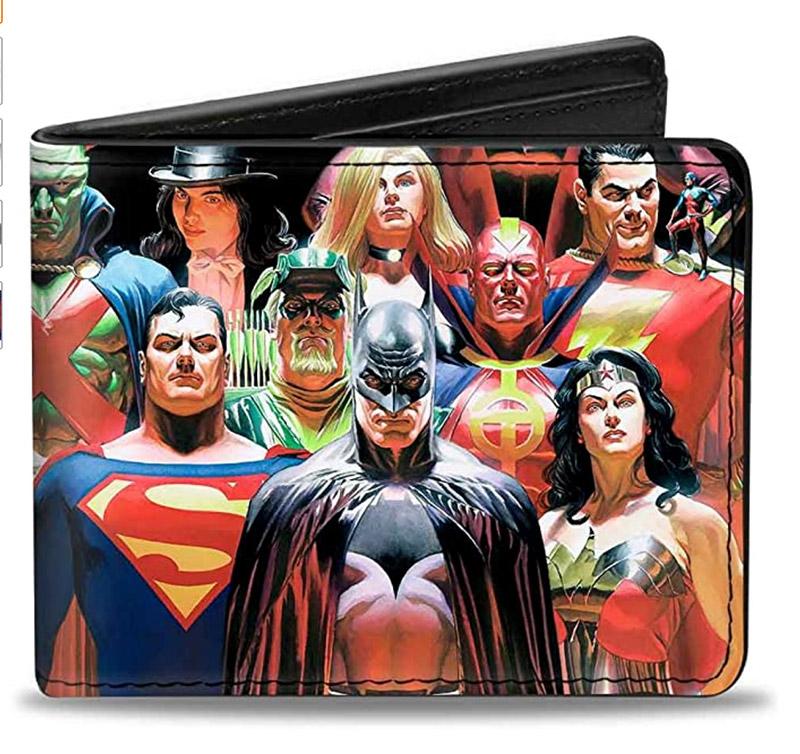 dc comics gift idea dc comics wallet