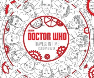 dr who gifts coloring book