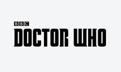 dr who menu logo