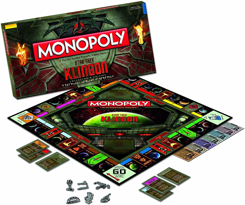 klingon monopoly Star Trek0gifts