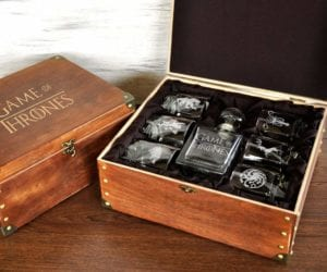 personalised whiskey set Game of Thrones Gift Idea
