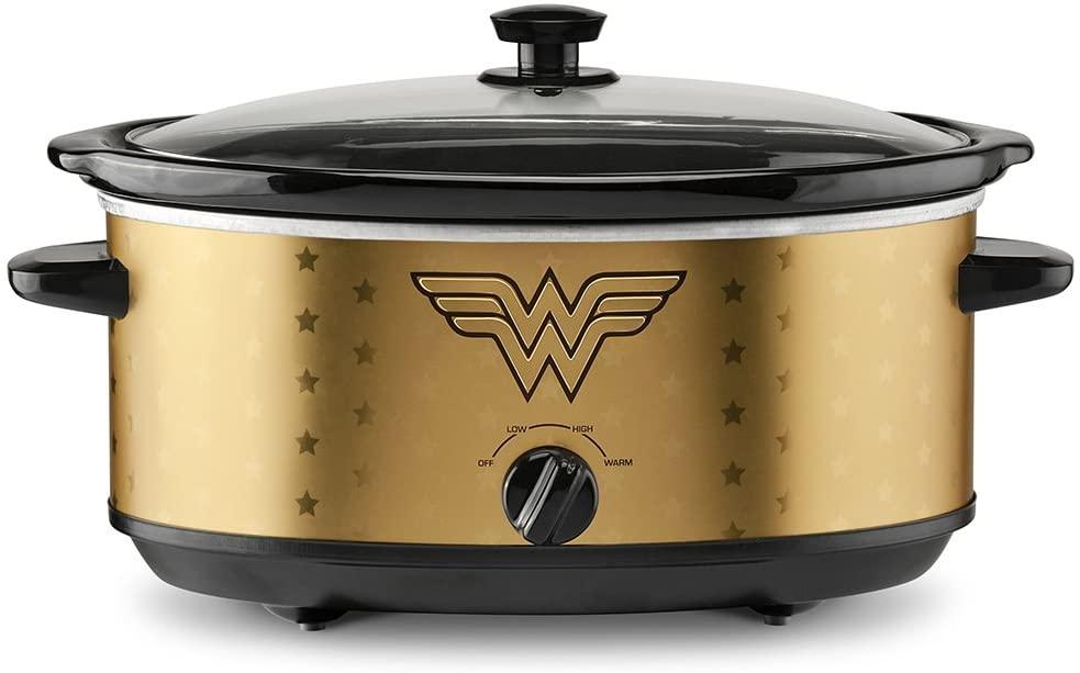 slow cooker wonder woman gift idea