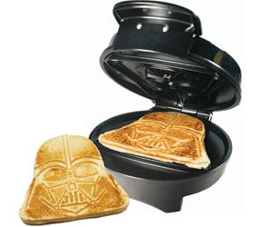 star wars pancake waffle maker darth vader