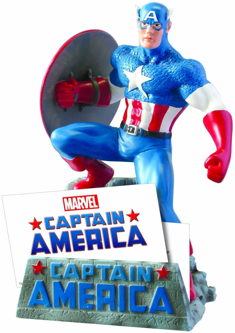Captain America gift ideas business card holder marvel fans