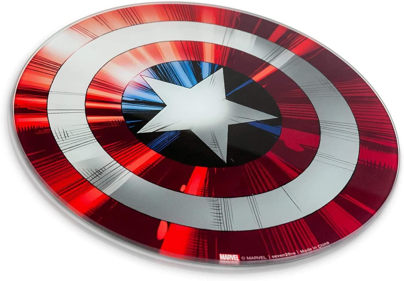 Captain America gift ideas cutting board marvel fans