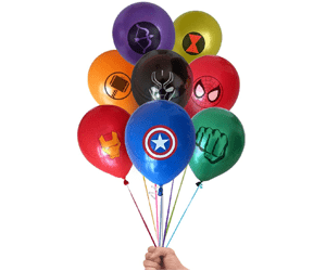 Marvel Balloons geek gifts for kids superhero party kids party