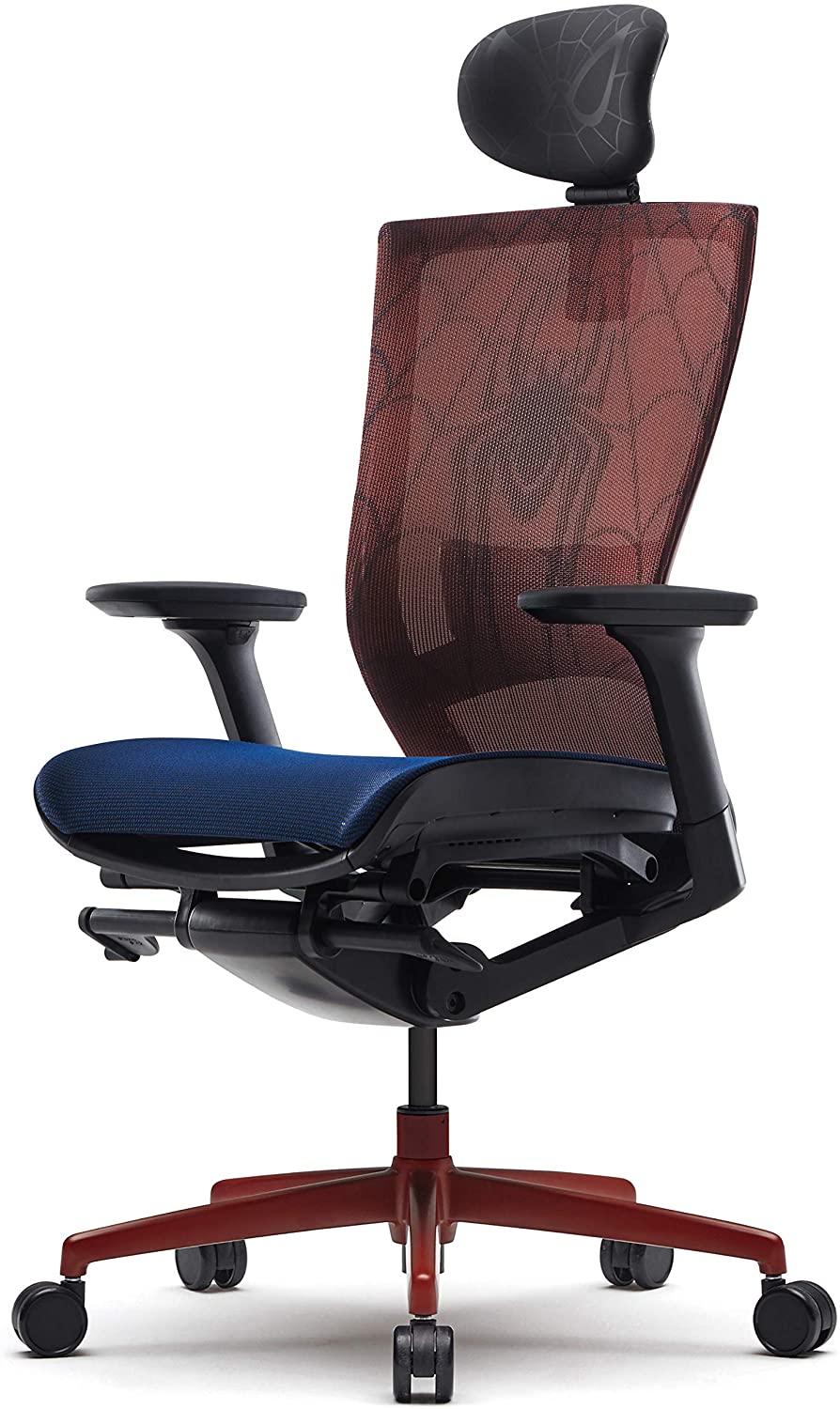 Spiderman Gaming office chair gift idea for spiderman fans