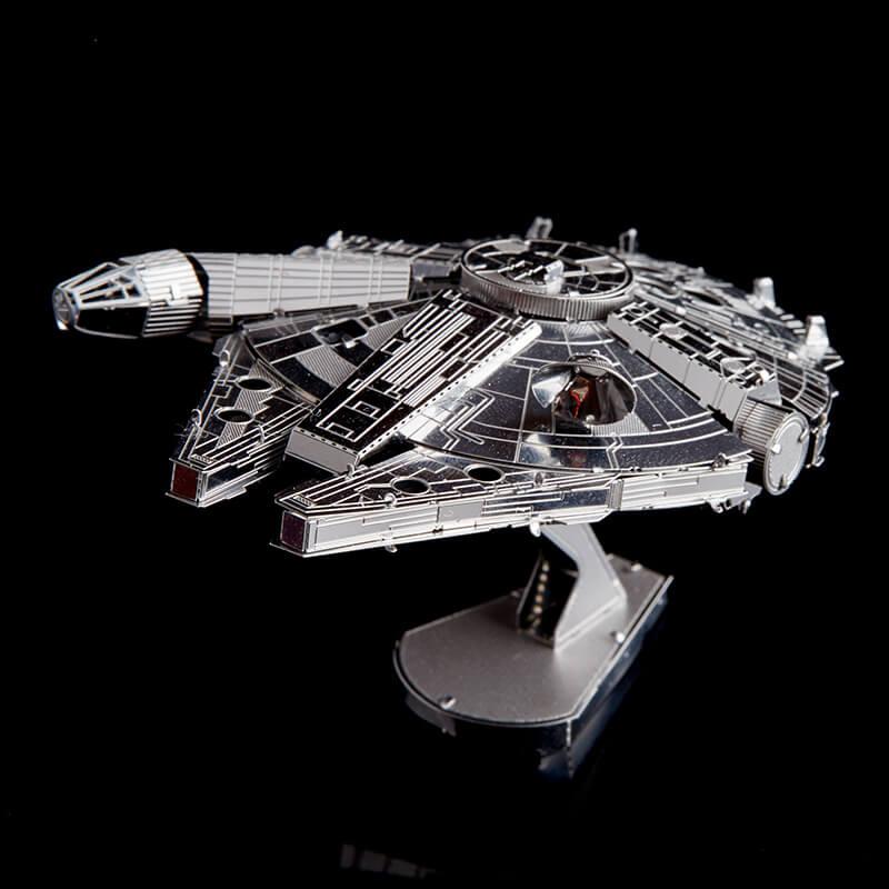 gifts for star wars fans millenium falcon 3d model kit