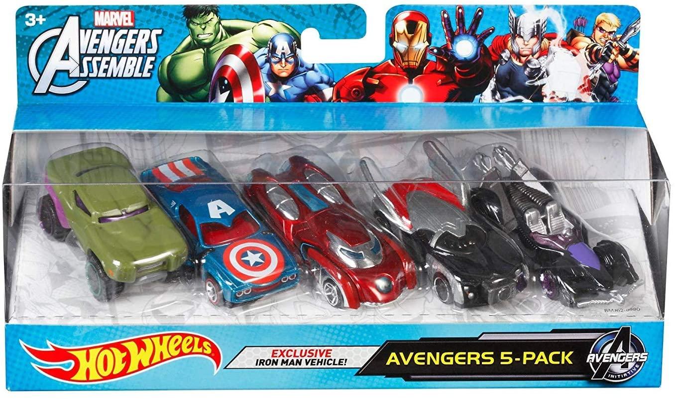 hot wheels avengers cars