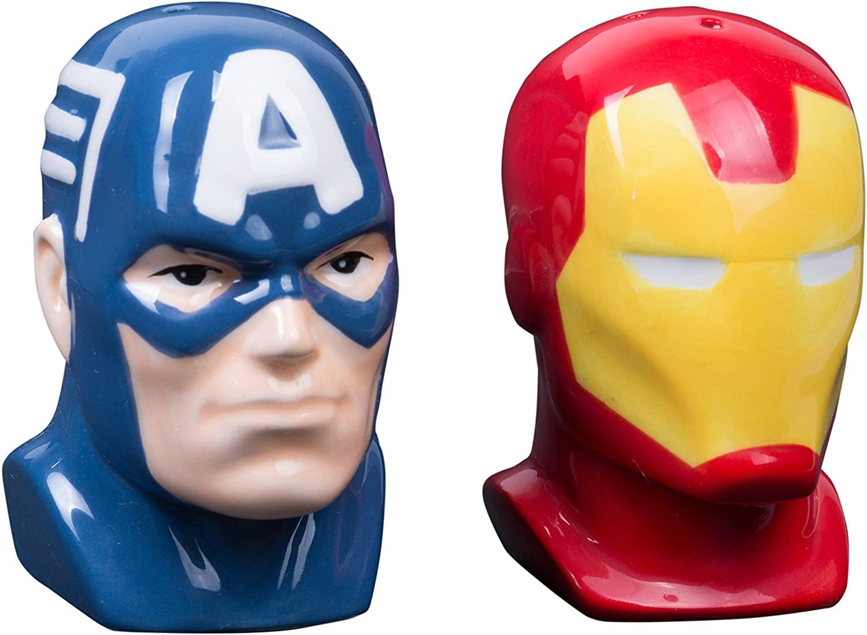 marvel salt and pepper shakers marvel gift ideas