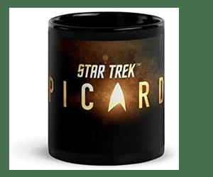 star trek picard mug star trek gift ideas