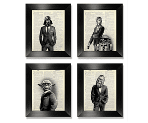 star wars gift ideas star wars wall print gift for geeks