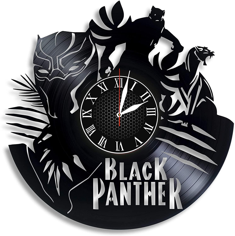 Black panther gifts clock Marvel