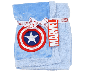 Captain America gifts baby blanket