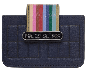 Doctor Who gift Ideas Tardis Wallet