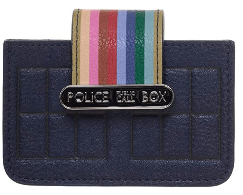 Doctor Who tardis wallet gift