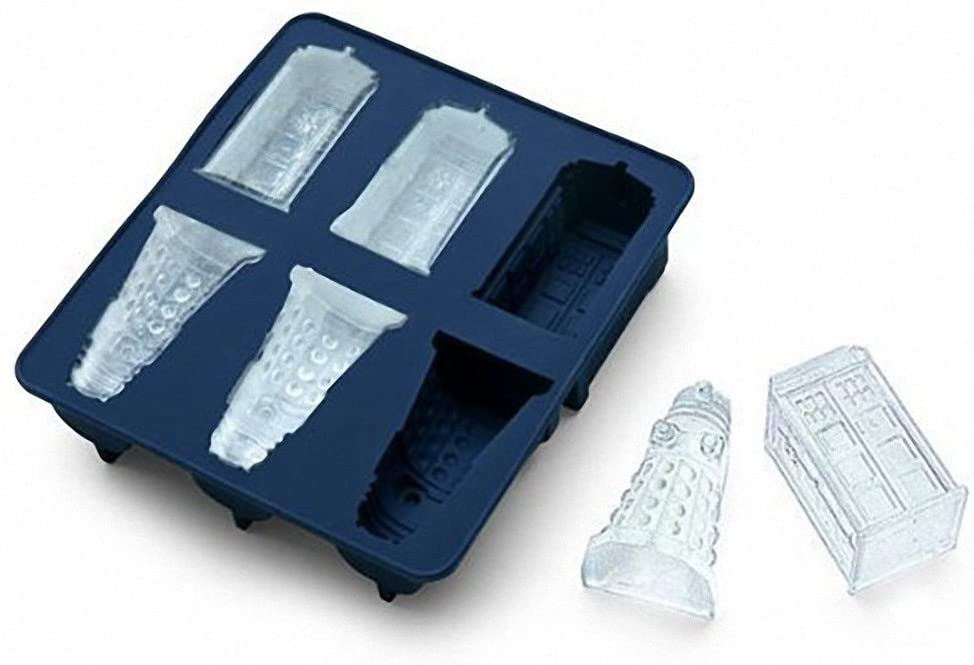 Dr Who Ice moulds