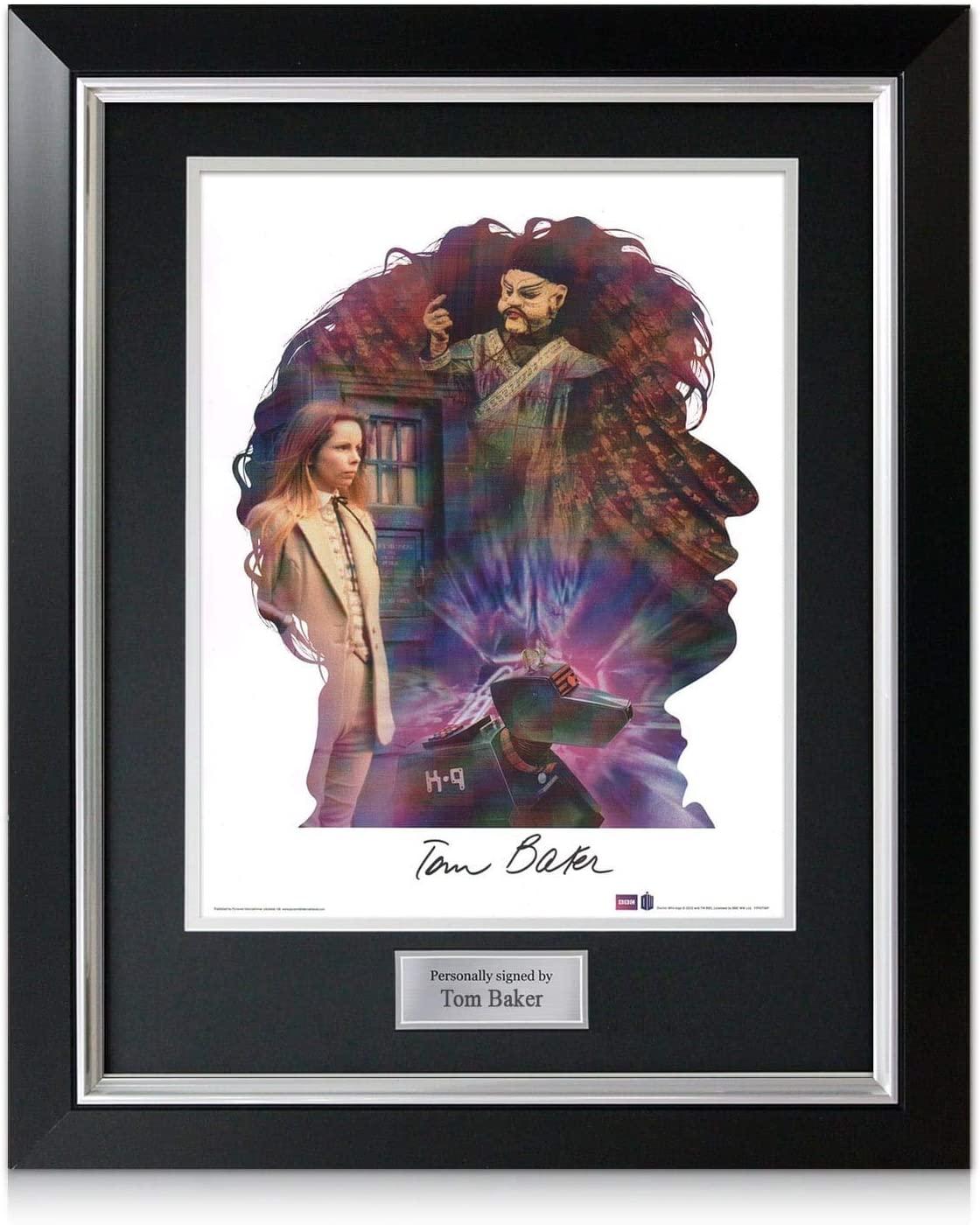 Dr Who Signed Tom Baker Poster Gift 2