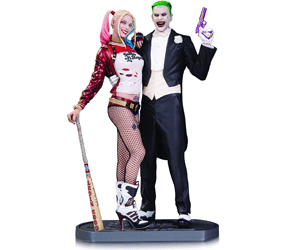 Harley Quinn and Joker Figure Gifts for Geeks