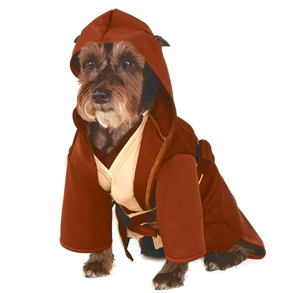 Jedi robe pet costume gifts for pets