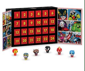 Marvel advent calendar POP 2019