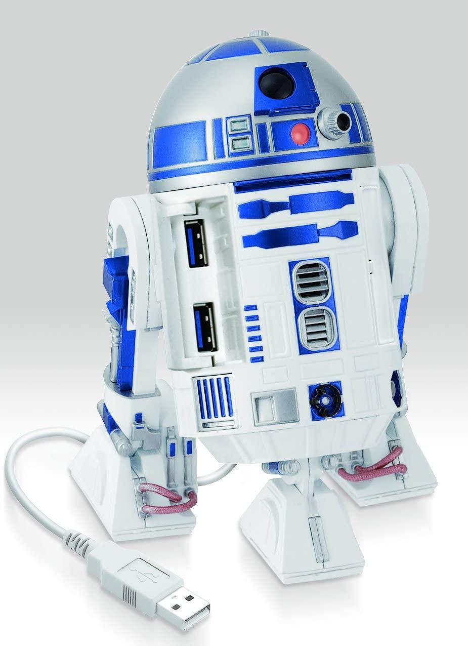 R2 D2 USB hub Star Wars Geek nerd gifts