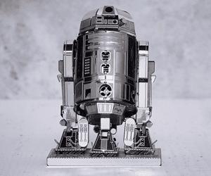 R2 D2 metal model gift