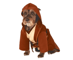 Star Wars Jedi robe pet costume gifts for pets