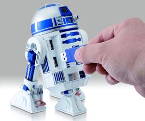 Star Wars geek gifts r2d2 USB