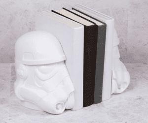 Star Wars stormtrooper gift bookends