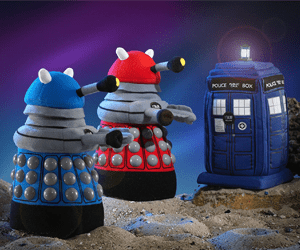 doctor who plush toy dalek gifts for kids