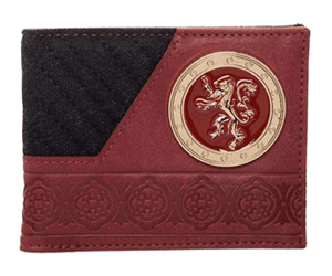 game of thrones gift ideas lannister wallet