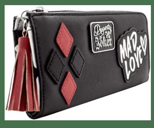 harley quinn wallet purse gift
