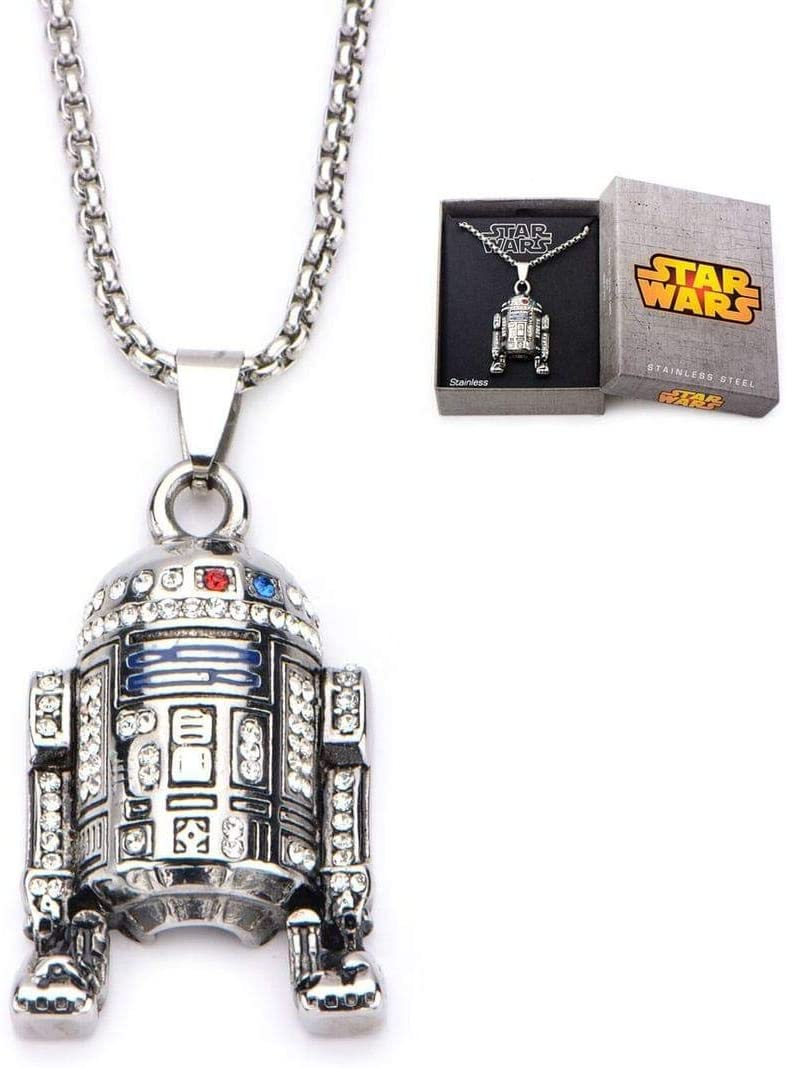 r2d2 necklace gift