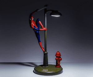 spiderman desk lamp gifts for geeks