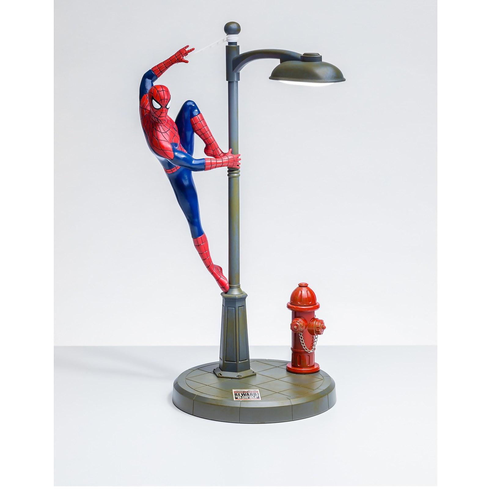 spiderman desk lamp marvel gifts