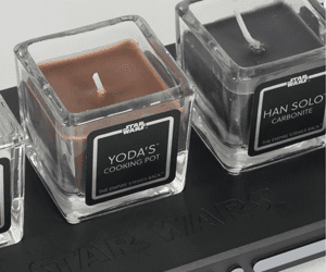 star wars candles gifts for star wars