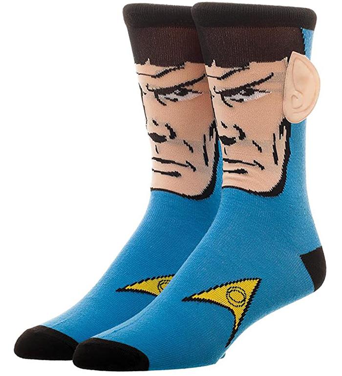 Star Trek Gifts Spock Socks
