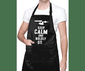 Star Trek kitchen apron