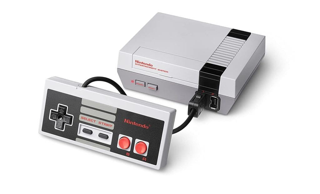 nintendo gaming system gift idea for geeks