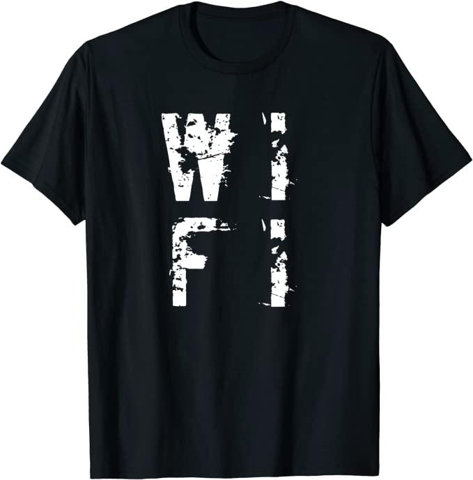 wifi t shirt gift idea for nerds